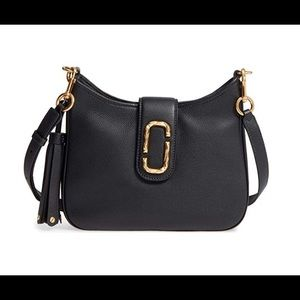 Marc Jacobs Interlock Small Hobo Bag, Black